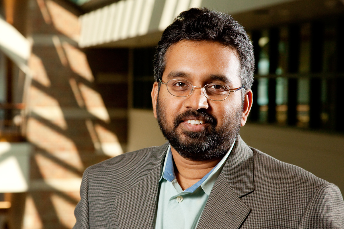 Illinois professor Narayana Aluru led a team that found that tiny pores in thin sheets of the material molybdenum disulfide could be very good at removing salt from seawater to yield drinkable water.