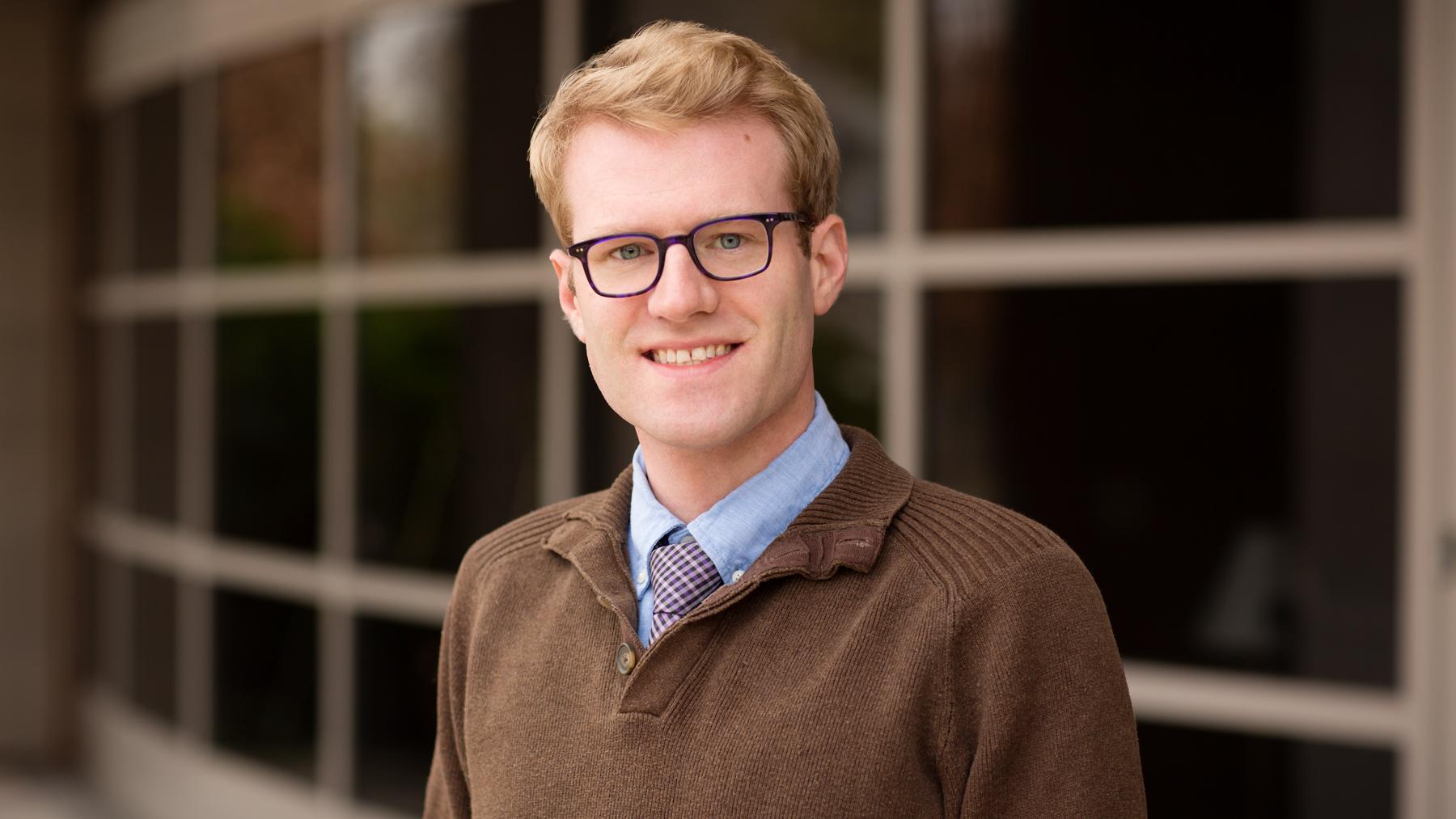 image of social work professor Michael Braun