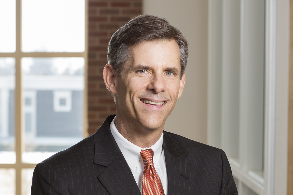 Photo of Michael LeRoy, a professor of labor and employment relations on the Urbana campus of the University of Illinois.