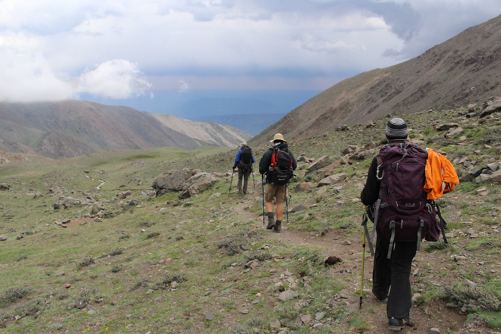 Acclimatization hikes are necessary before attempting to climb the 22,615-foot Ojos del Salado volcano.