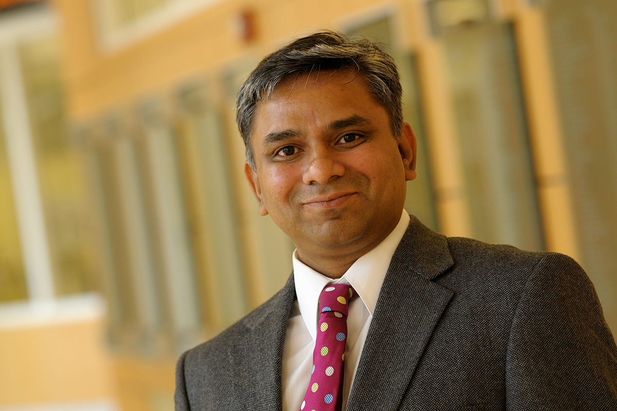 Photo of Ravi S. Gajendran, a professor of business administration at the University of Illinois.
