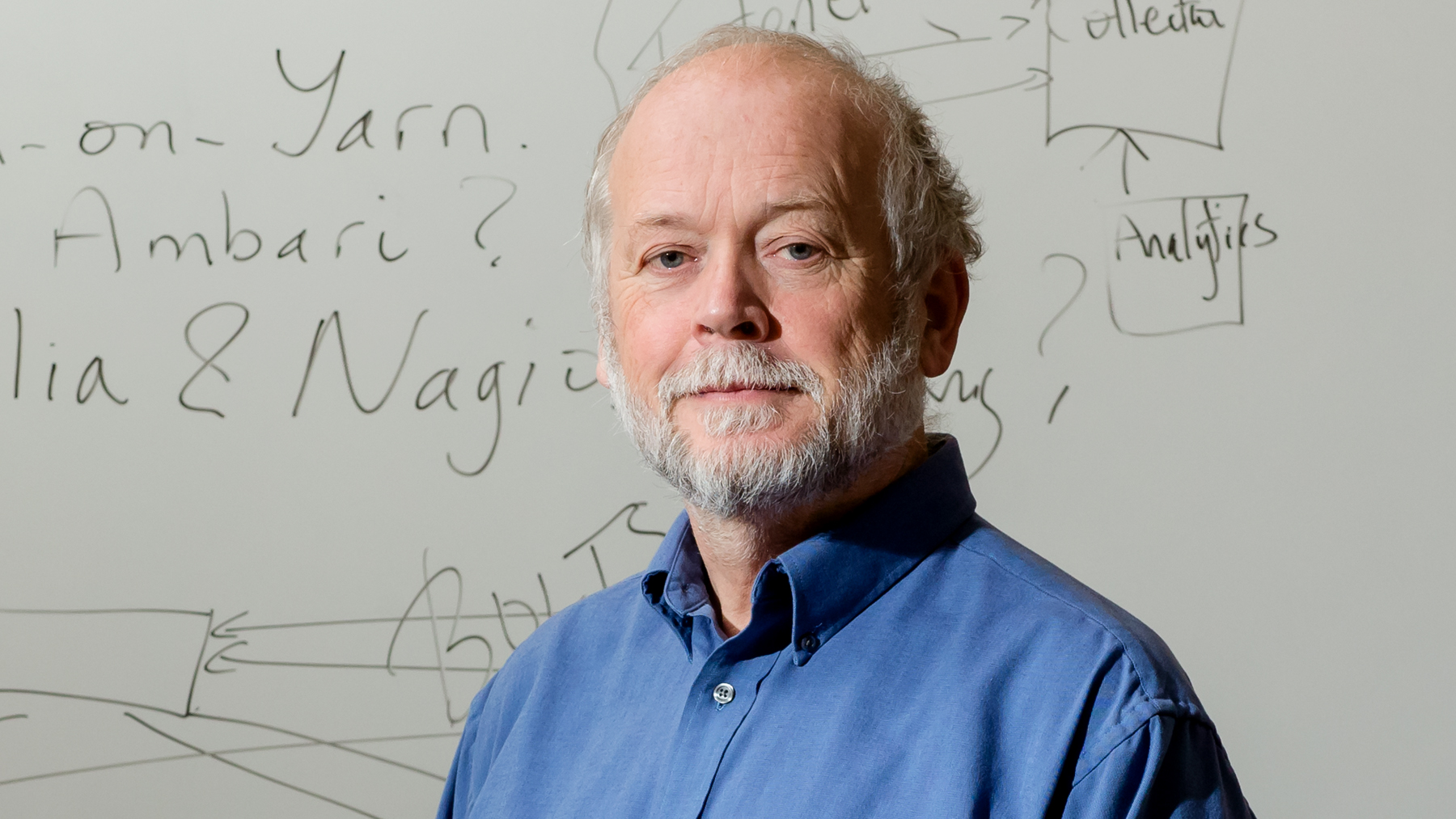 Photo of professor Roy Campbell