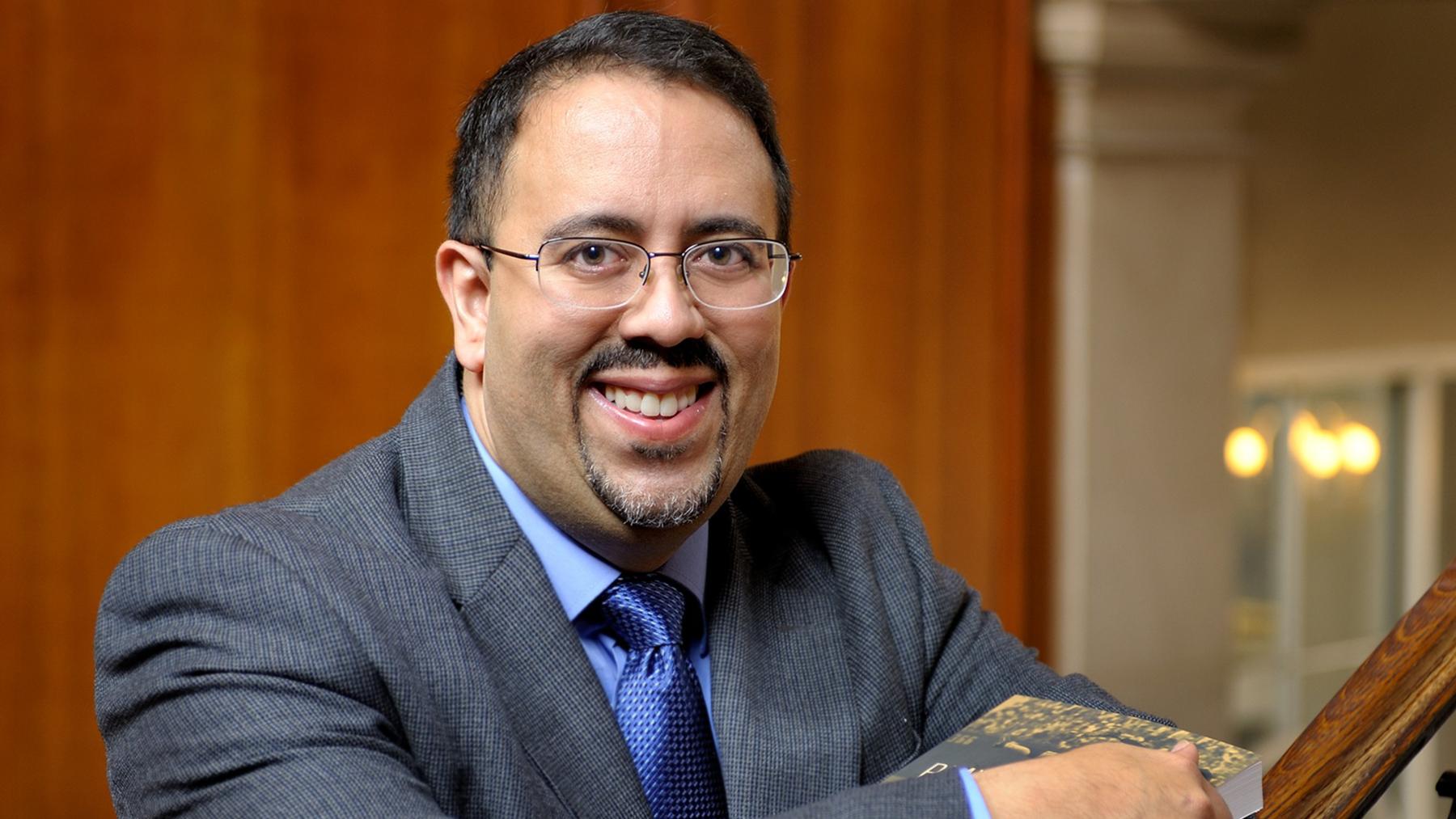 Photo of Professor Adrian Burgos
