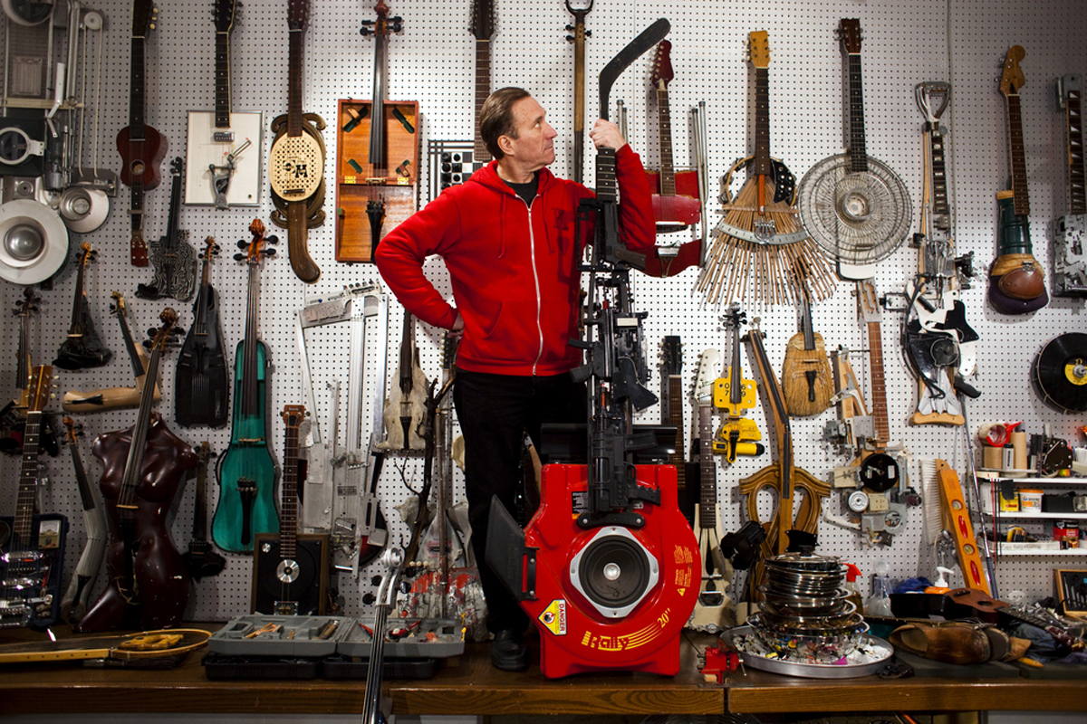Festival To Feature Music On Instruments Made From Found Materials