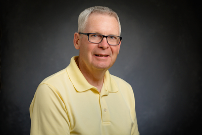Photo of professor Chris Roegge