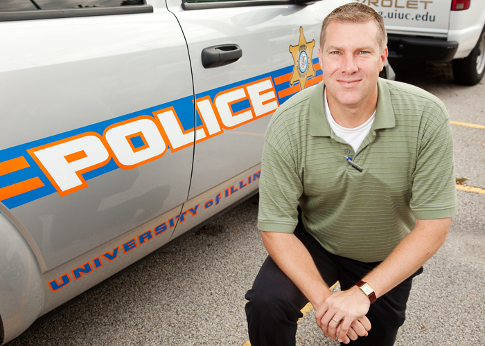 UI police Detective Gene Moore is one of seven detectives who work for University Police in the Division of Public Safety. The group investigates a variety of crimes on campus.