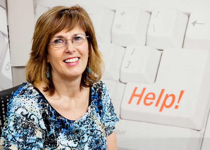 Terri Bingaman is a customer support specialist at Campus Information Technologies and Educational Services. Shes been helping students and employees reset their CITES passwords for 14 years.