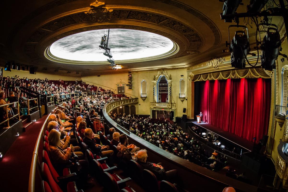 """The 22nd annual """"Ebertfest"""" has been rescheduled for April 20-23 at the Virginia Theatre in downtown Champaign."""