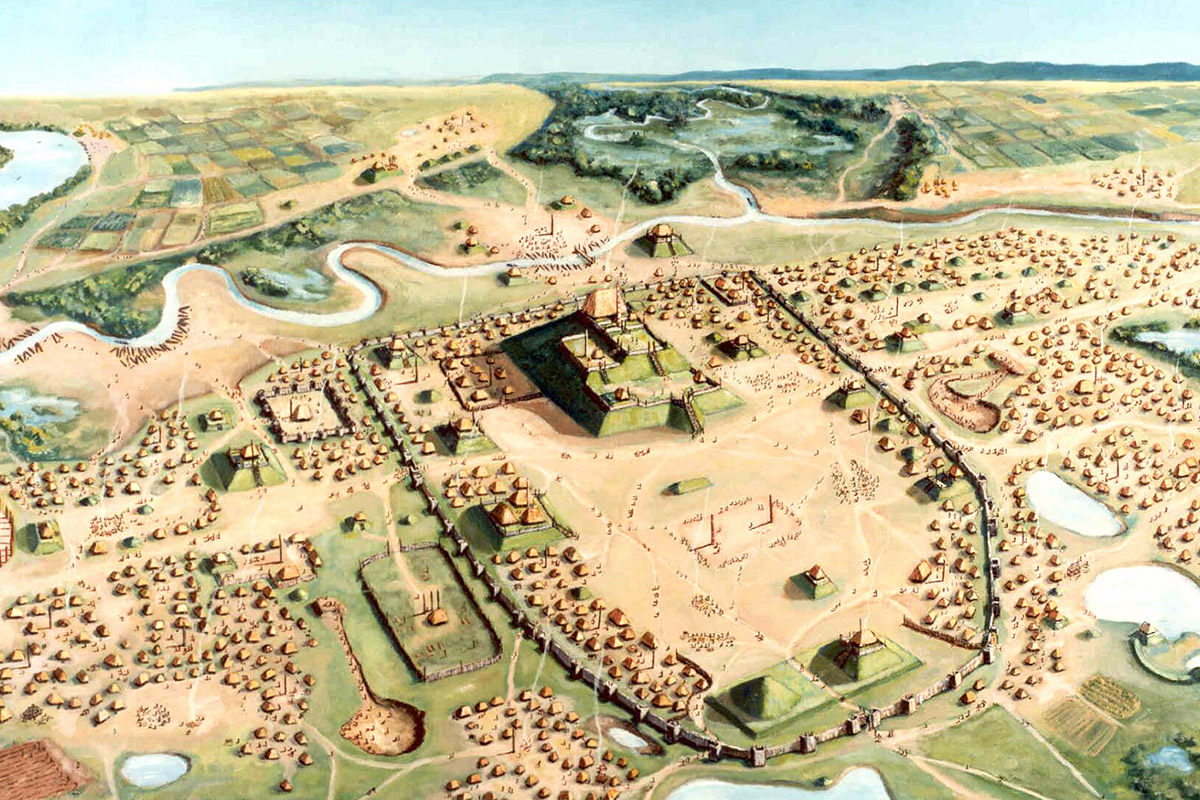 A new study of Cahokia finds that those buried in mass graves likely lived in or near the pre-Columbian city most of their lives.