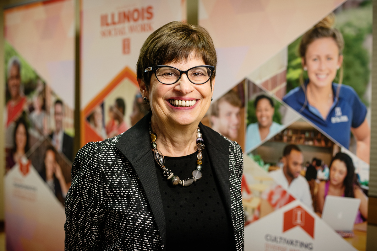 Wynne Korr, Dean of the School of Social Work