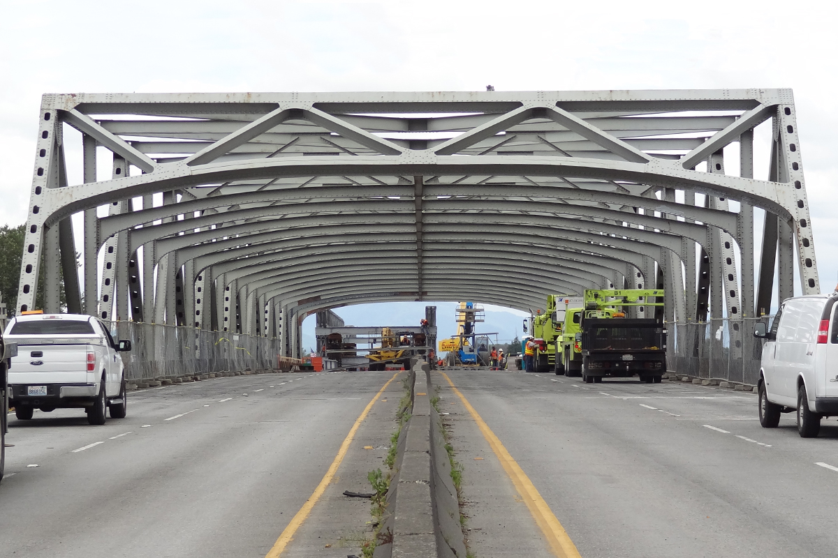 A key factor in the crash was the curved opening of the bridge. The posted height was the maximum in the center, not the lower curved section above the outer lanes, which the truck hit, which means the databases that shipping companies rely on to plan routes may be inaccurate.