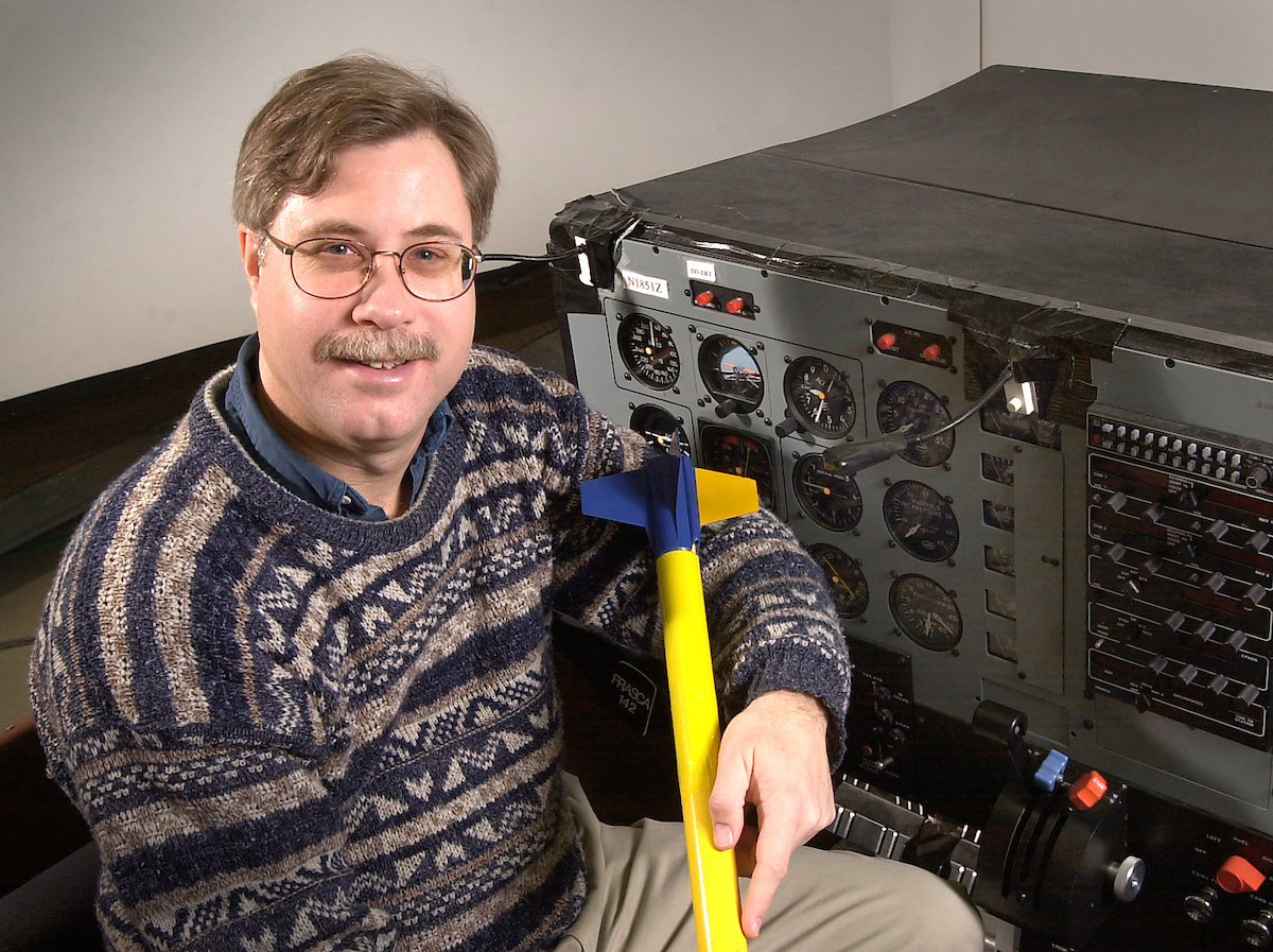 Jonathan Sivier has been a research programmer for the aviation research laboratory at the Beckman Institute for Advanced Science and Technology for 14 years.