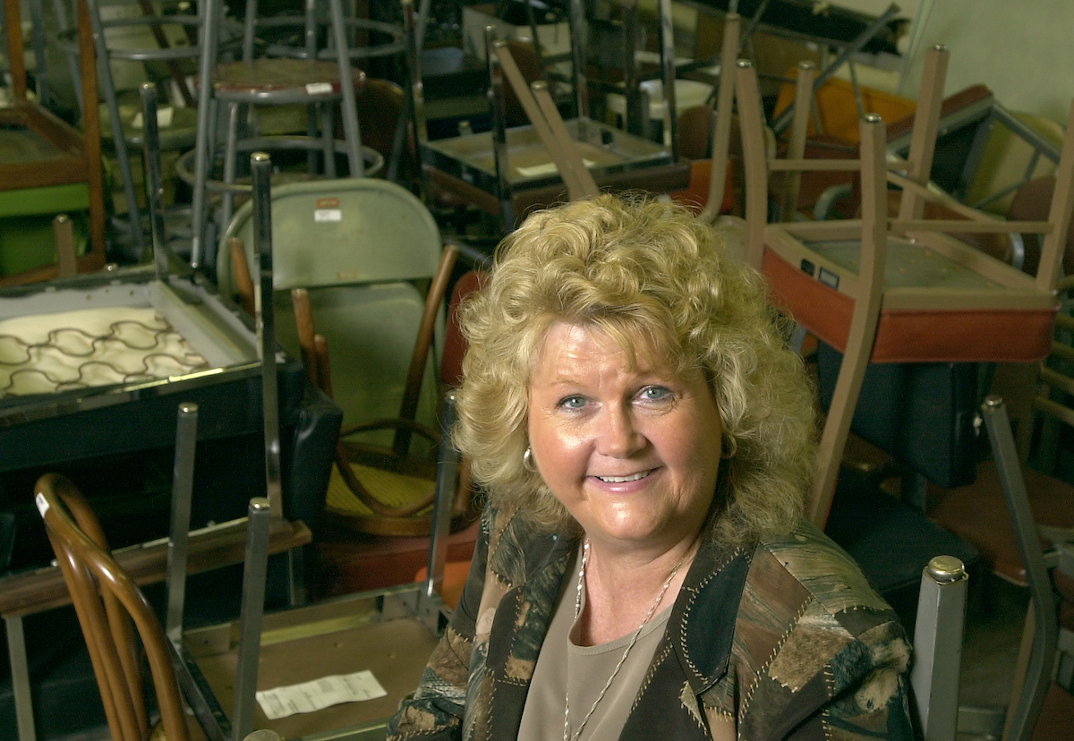 Shirley Panepinto is an inventory specialist in the Redistribution Warehouse operated by the UI's Accounting Division.