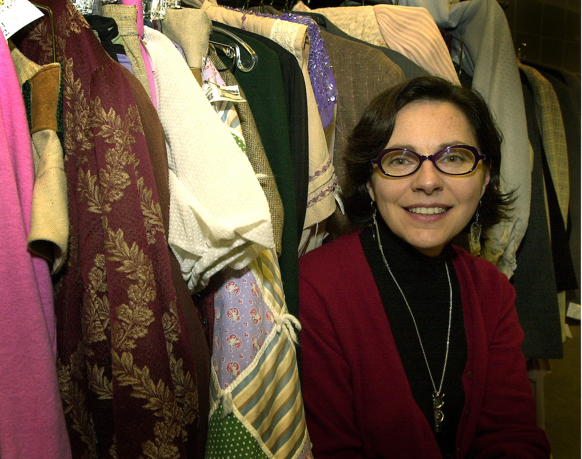 Nicole Faurant, costume rental manager at Krannert Center for the Performing Arts, also holds a master of fine arts degree in costume design from the University of Georgia.