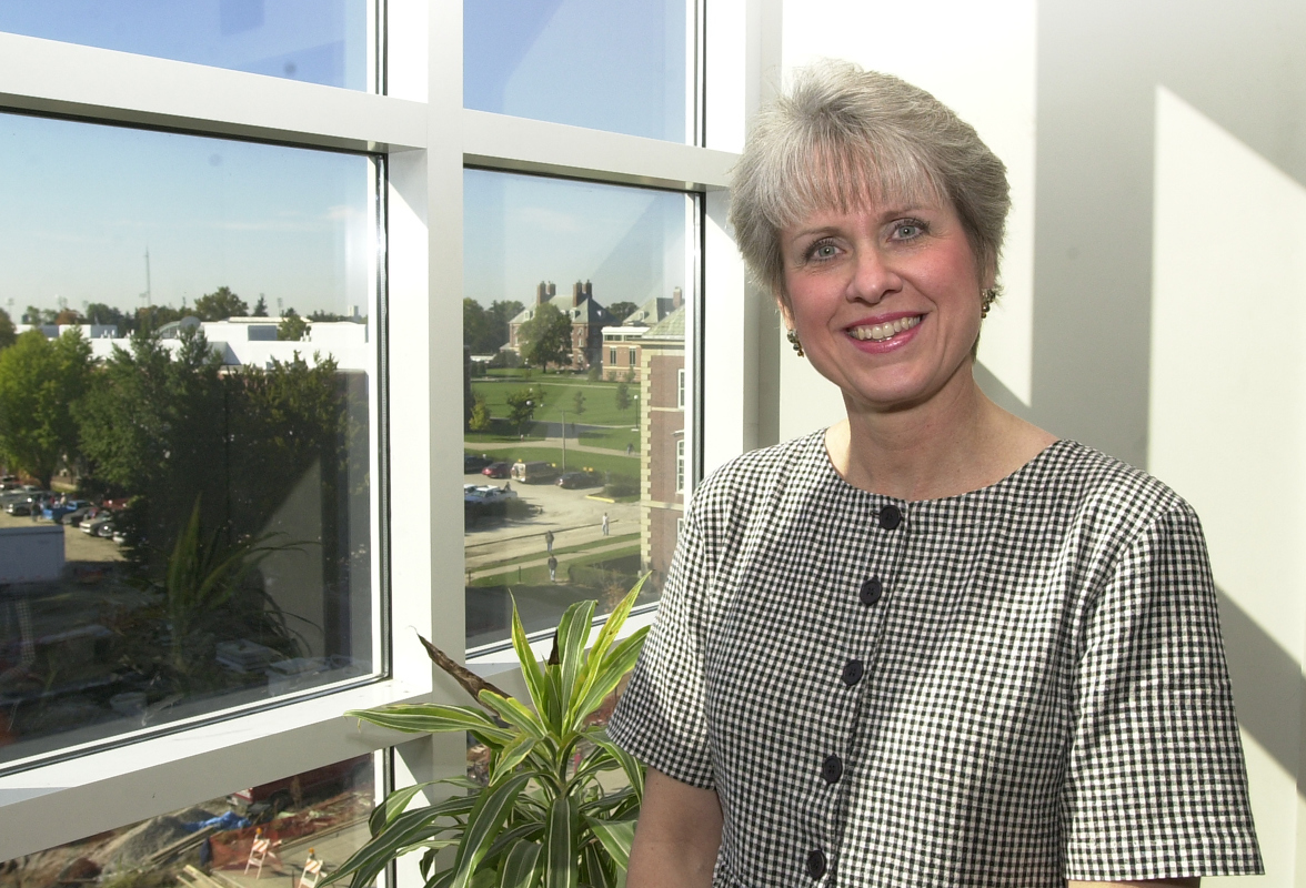 Gloria Sax has been administrative secretary to the head of the department of animal sciences for four years. She started at the UI nearly six years ago after getting out of the hectic surety-bond industry.