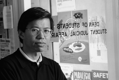 Jonathan Ying is an assistant dean in the Office of the Dean of Students.