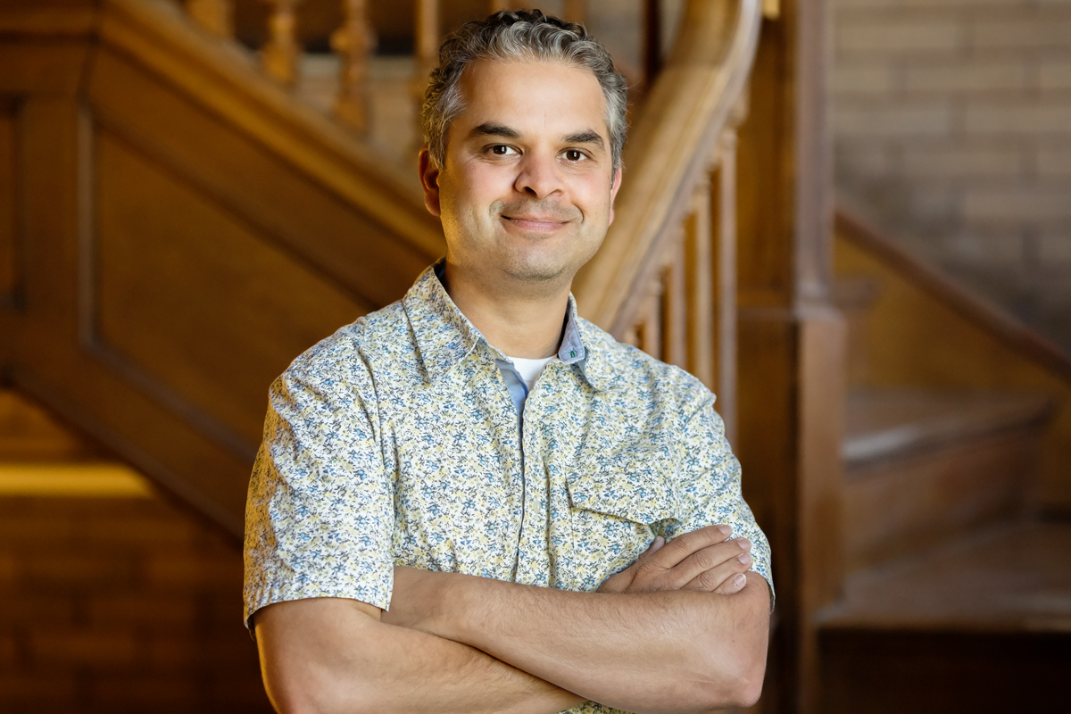 Anthropology professor Ripan Malhi works with Native Americans and First Nations groups to analyze their DNA and that of their ancestors.