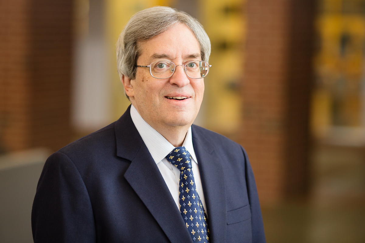 Photo of Richard L. Kaplan, the Peer and Sarah Pedersen Professor of Law at Illinois.