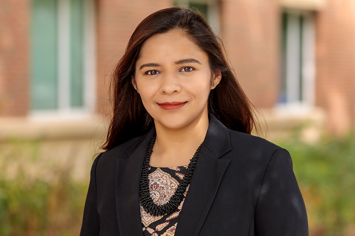 Photo of Unnati Narang, a professor of business administration at the Gies College of Business.