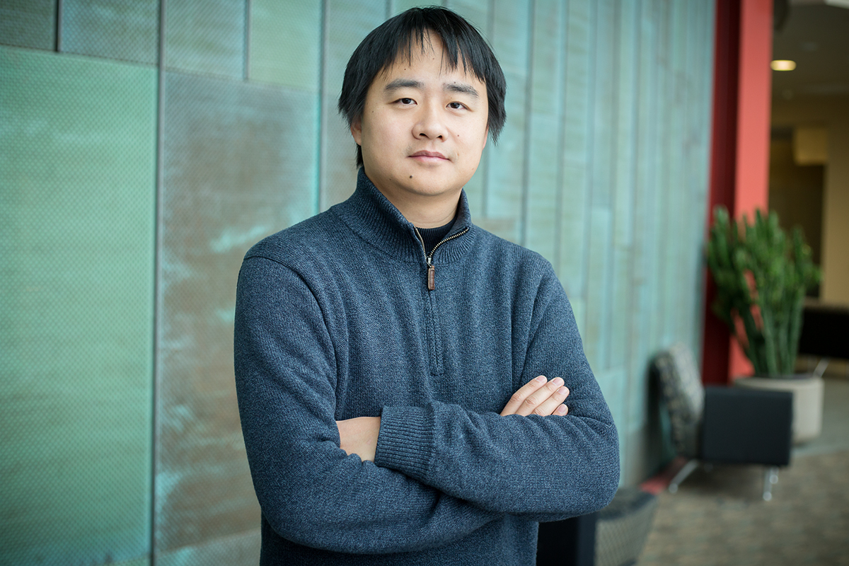 "Illinois computer science professor Jian Peng developed a tool to map a gene's ""social network,"" which could help researchers better understand its function and interactions, and provide insights into human disease and treatment."