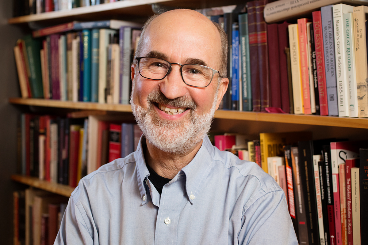 U. of I. history professor Mark Steinberg's new book on the Russian Revolution, marking its centennial this year, focuses on how people made sense of history as it unfolded in their own lives.