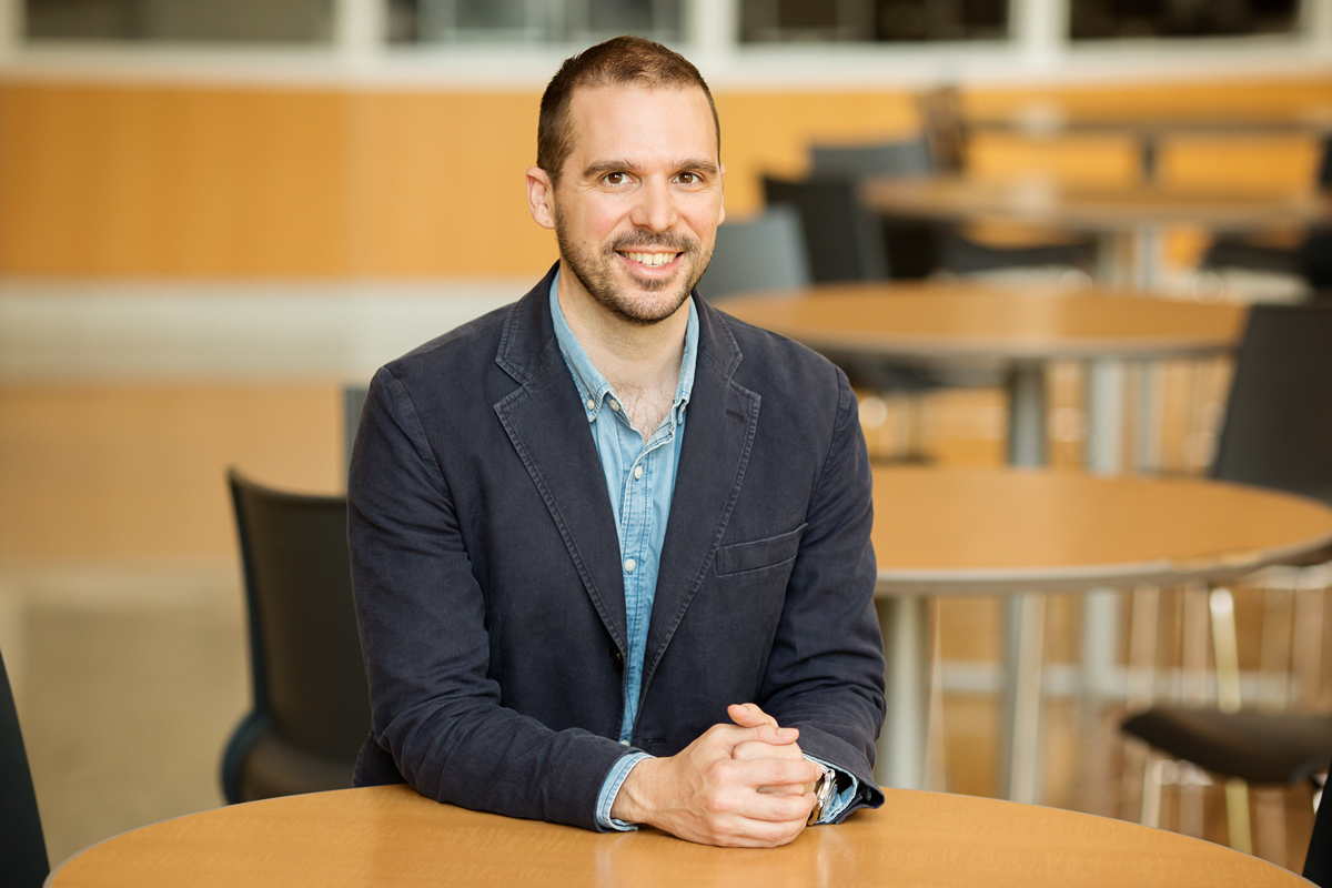 Photo of Robert Habans, a postdoctoral research associate in the School of Labor and Employment Relations at the University of Illinois.
