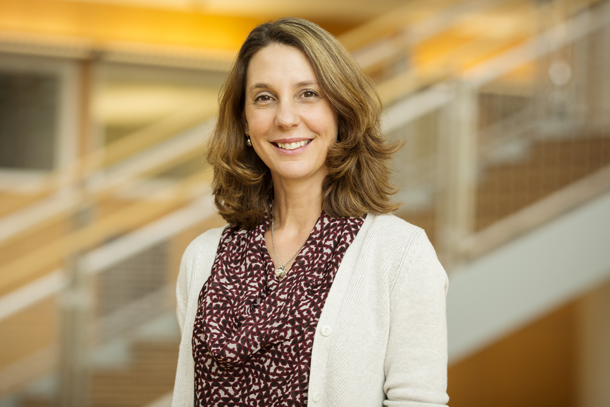 Photo of U. of I. labor professor M. Teresa Cardador.