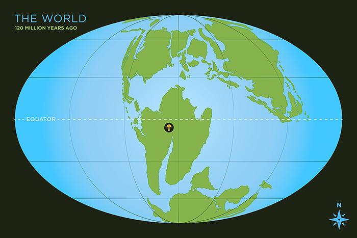 Mushroom World Map.Scientists Find World S Oldest Fossil Mushroom Illinois