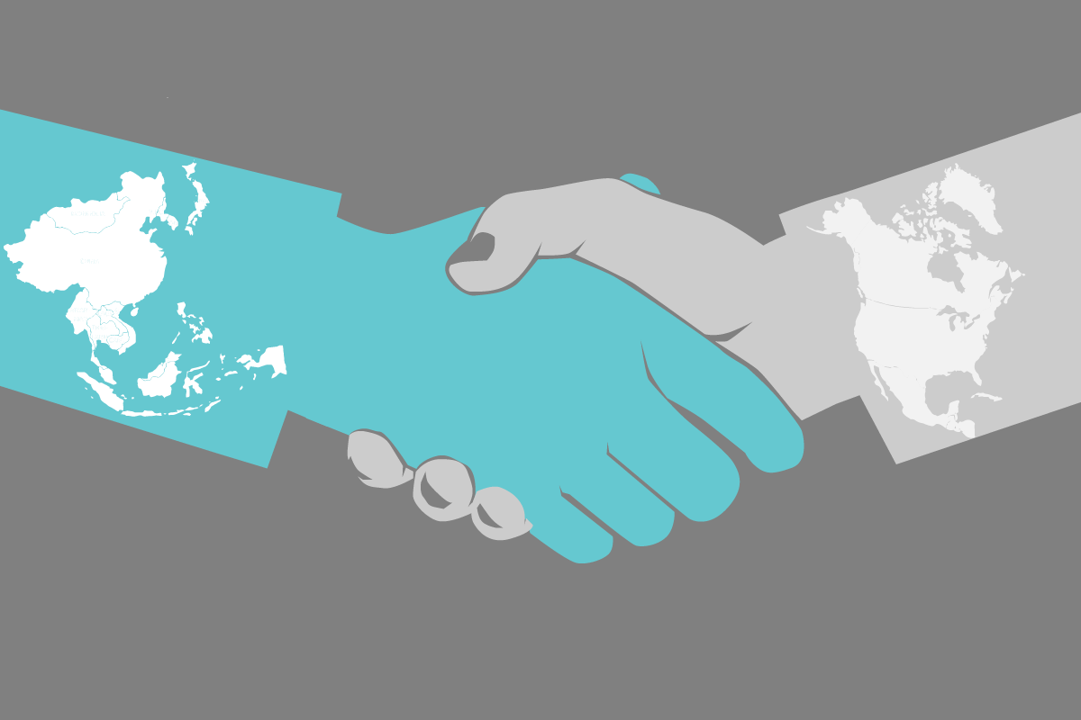East Asians and Westerners view handshakes differently, new research finds.