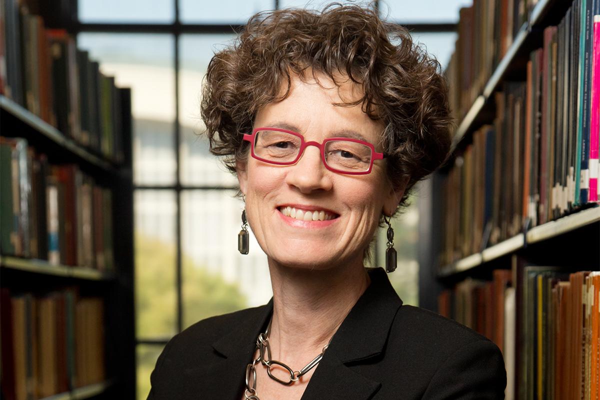 History professor Leslie Reagan