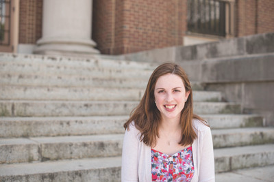 """The School of Social Work has become my home on campus, and it's nice to share that experience with other students,"" said senior Anne Coulomb, who is serving her second appointment as a Social Work Ambassador."