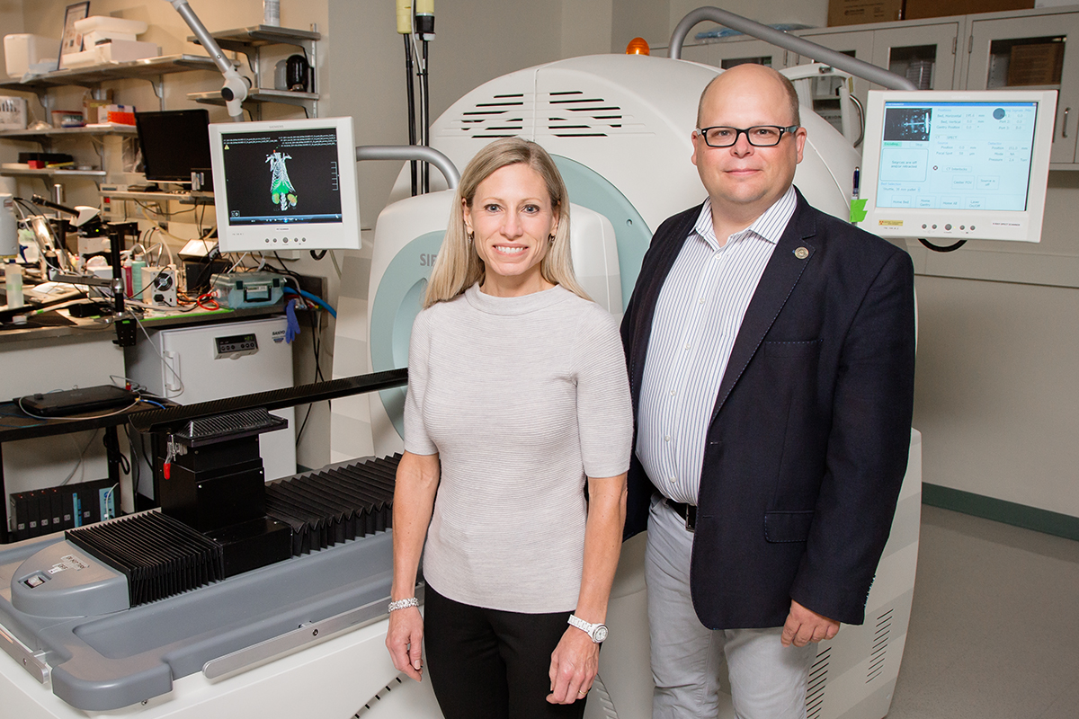 Professors Marni Boppart and Wawrzyniec Lawrence Dobrucki found that stem cells helped alleviate complications from peripheral artery disease in diabetic mice.