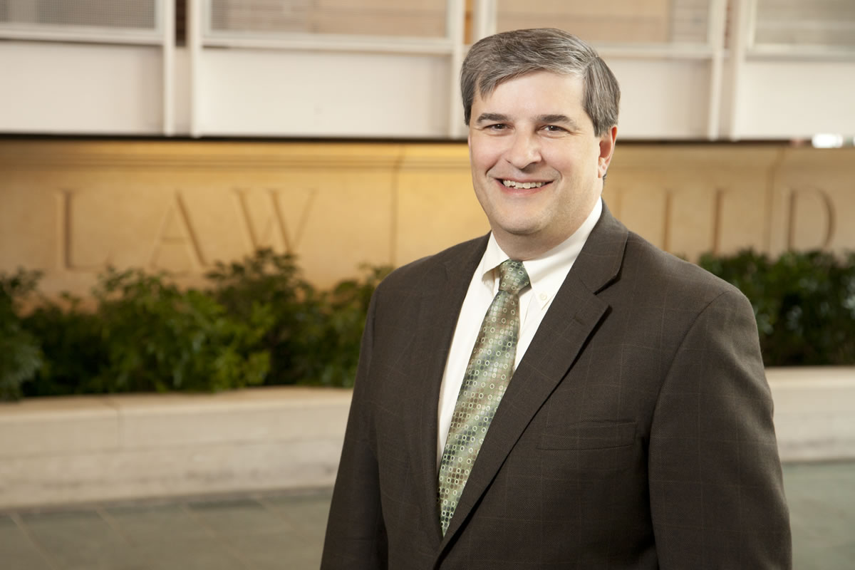 Photo of Robert M. Lawless, the Max L. Rowe Professor of Law at Illinois and a leading consumer credit and bankruptcy expert.