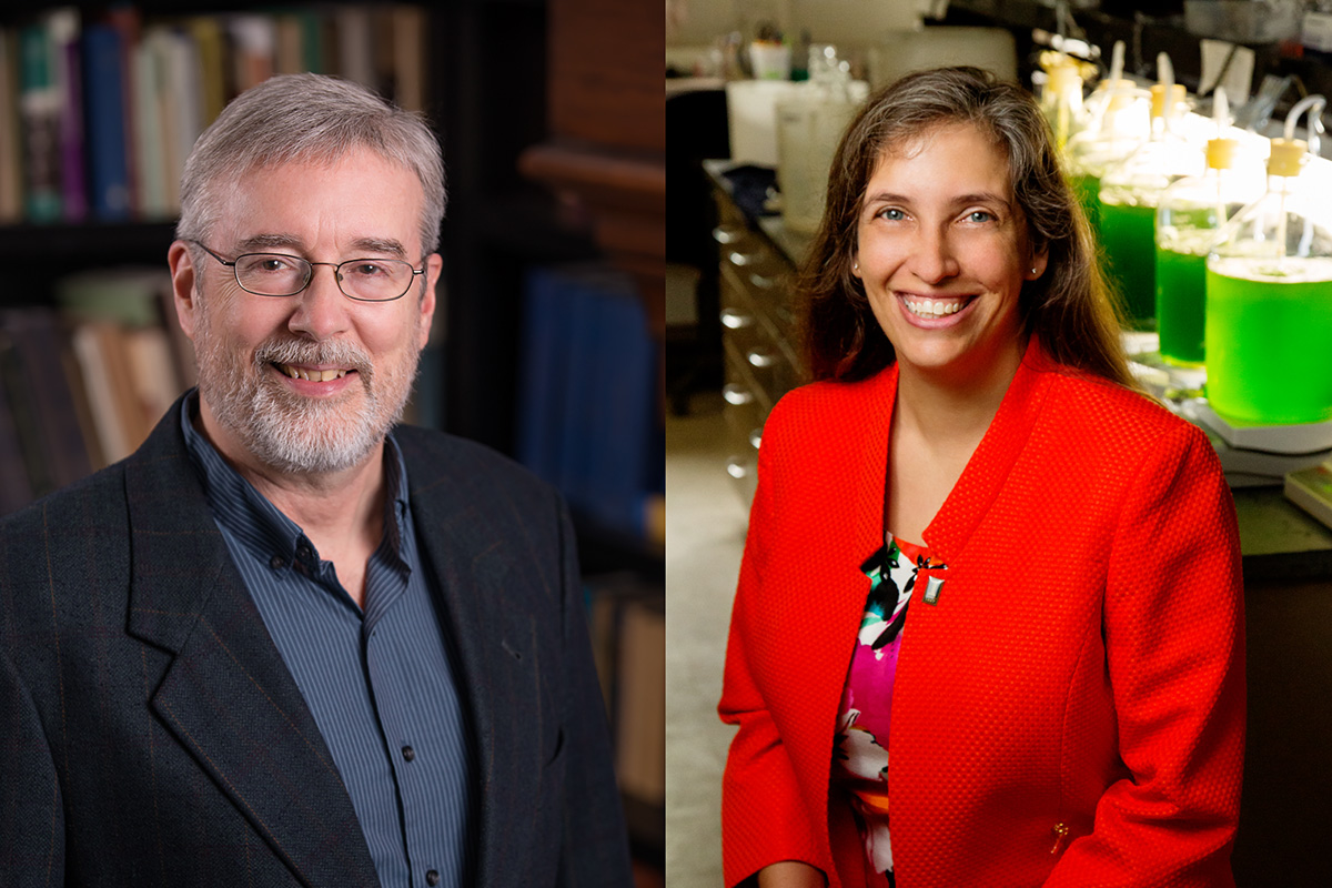 Statistics professor Douglas Simpson and animal biology professor Carla Caceres are new Fellows of the American Association for the Advancement of Science