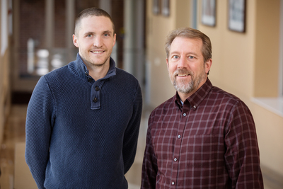 Jacob Allen, left, Jeffrey Woods and their colleagues found that exercise alters the microbial composition of the gut in potentially beneficial ways.