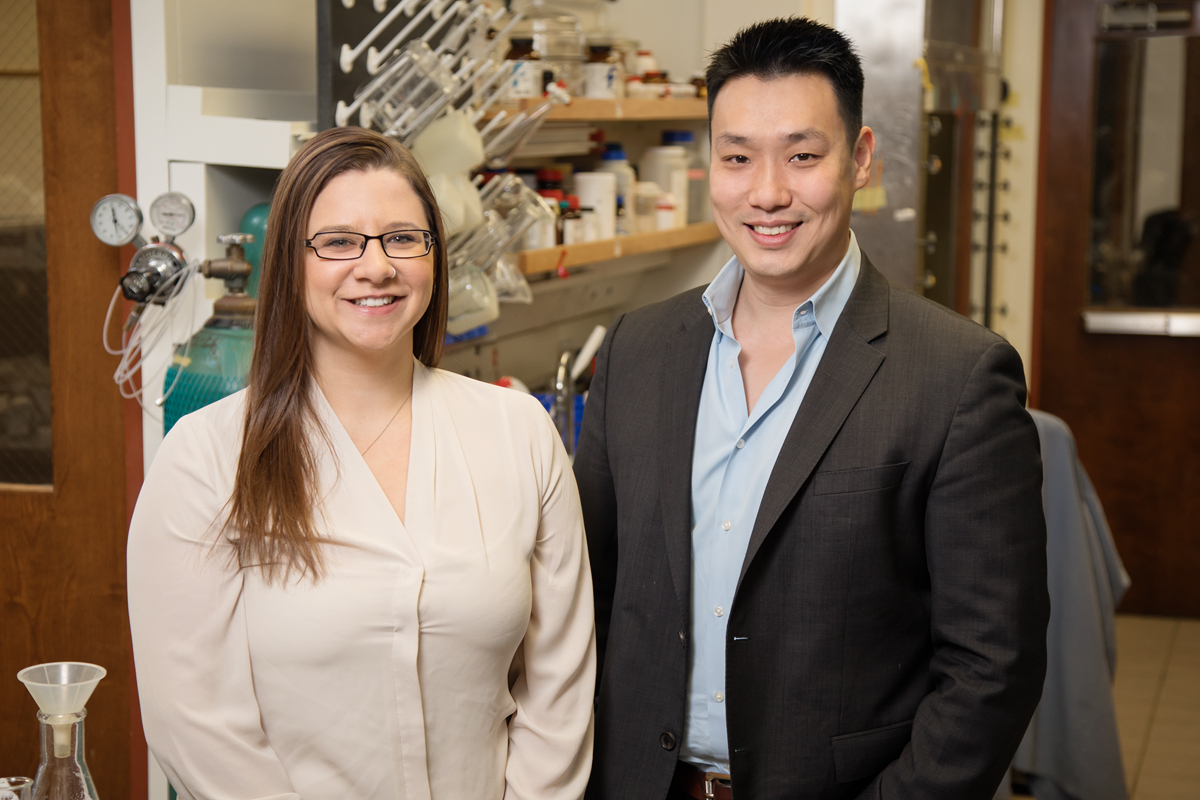 Illinois graduate student Hailey Knox and chemistry professor Jefferson Chan developed a photoacoustic molecular probe that activates in tissues low in oxygen, which could lead to better diagnosis and treatment of cancer, stroke and blocked or narrowed blood vessels.