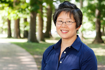 Ming Kuo and her colleagues found that student engagement in the classroom improved after an outdoor lesson.