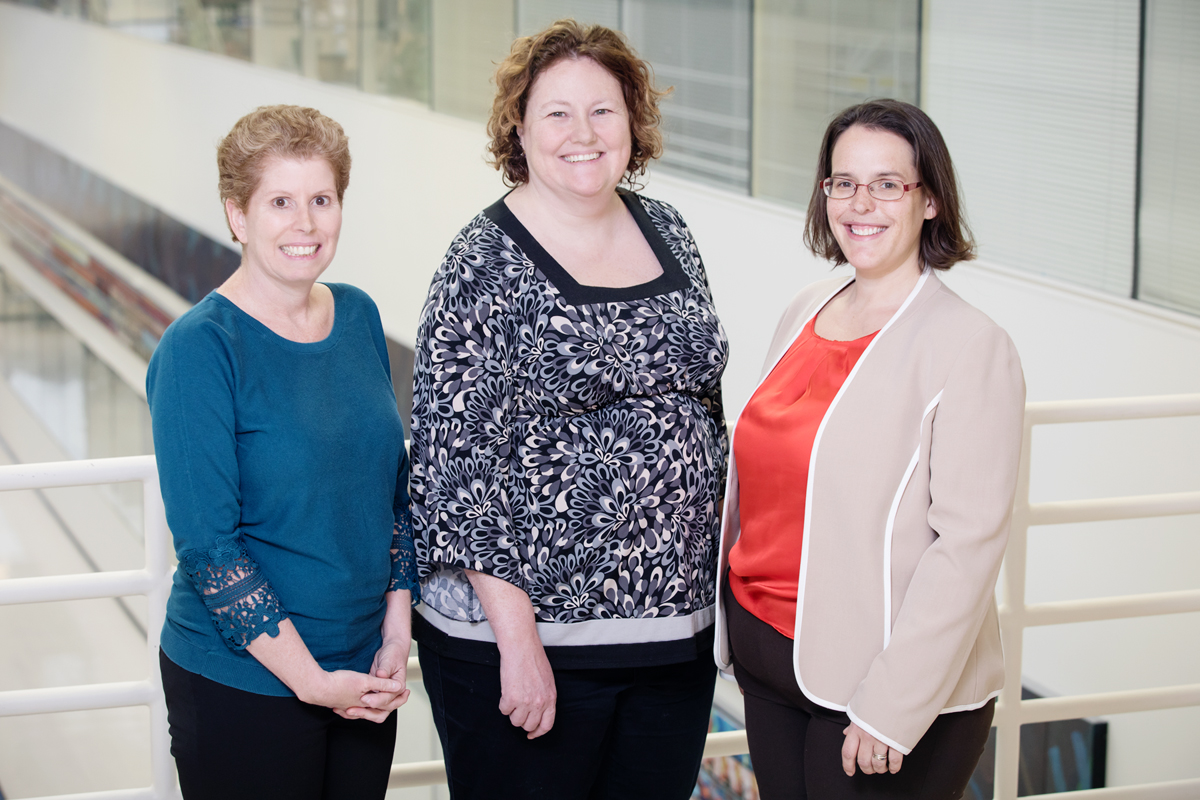 Illinois professors Jodi Flaws, Megan Mahoney and Rebecca Smith found that sleep problems in menopause are closely correlated with hot flashes and depression, but that they may not last after menopause.