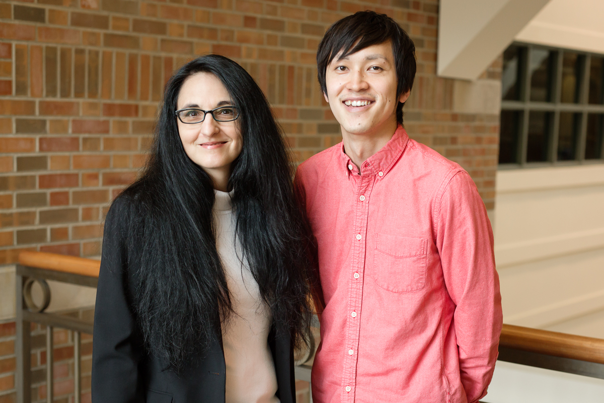 Psychology professor Sanda Dolcos and graduate student Yuta Katsumi explore how suppressing negative emotions affects brain function and memory.