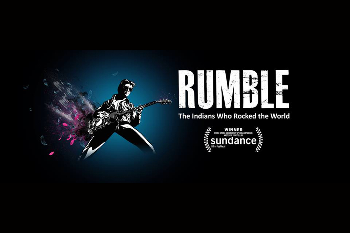 """Rumble"" will close this year's ""Ebertfest"" – followed by a performance by Native American artist Pura Fe."