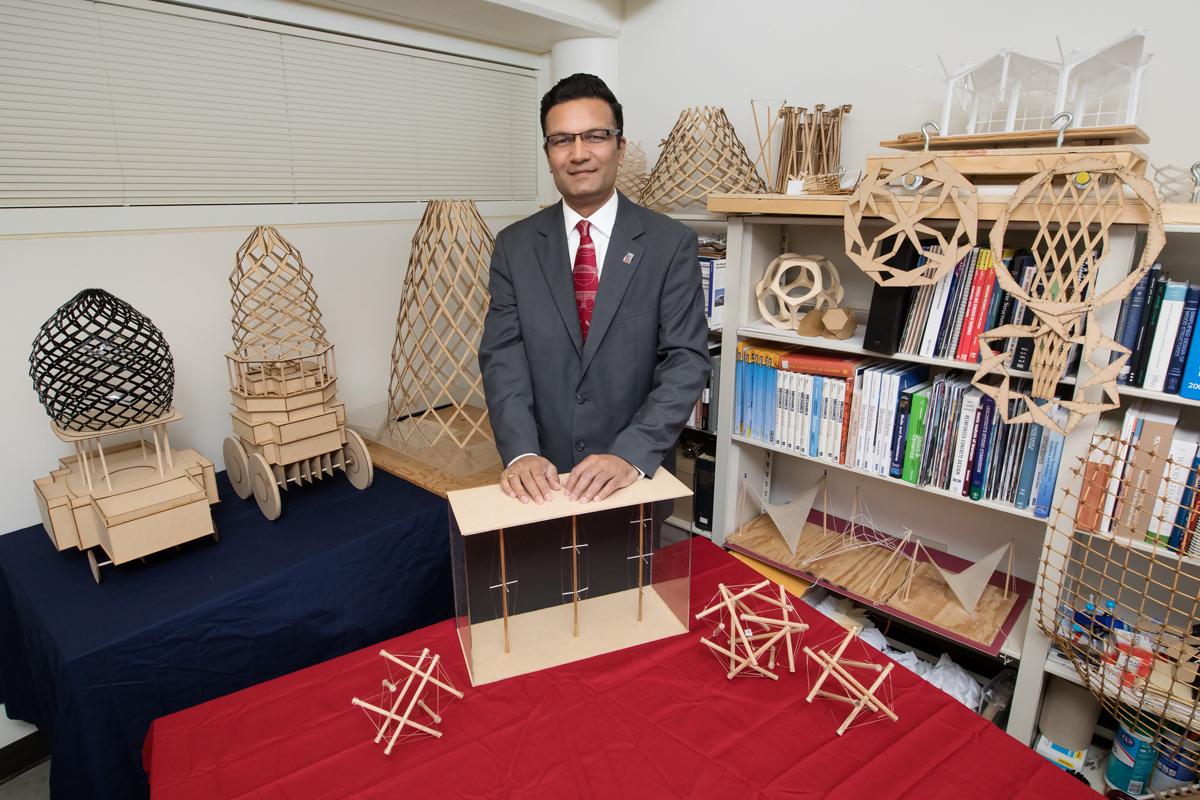Illinois architecture professor designs transformable adaptive