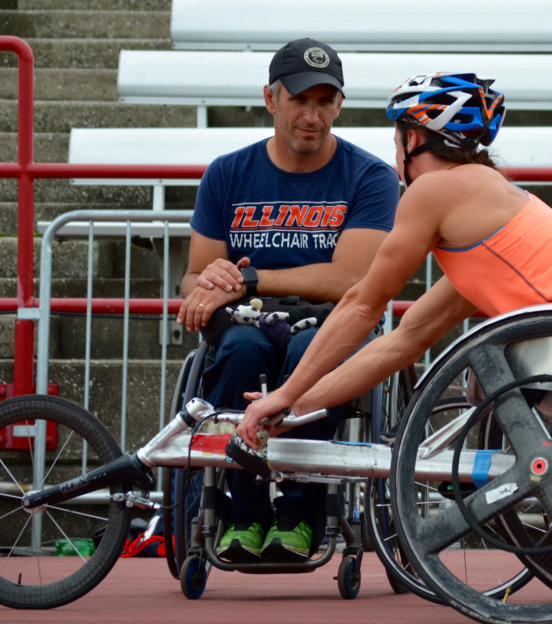 Adam Bleakney talks to Tatyana McFadden