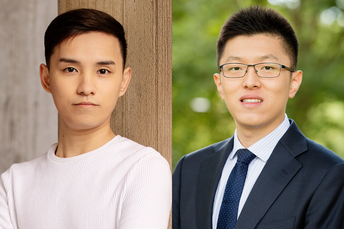 Two distinct types of help-seeking at work have differing interpersonal costs and benefits for employee competency measures, says new research co-written by Yihao Liu, right, a professor of labor and employment relations and of psychology at Illinois, and graduate student Fan Xuan Chen.