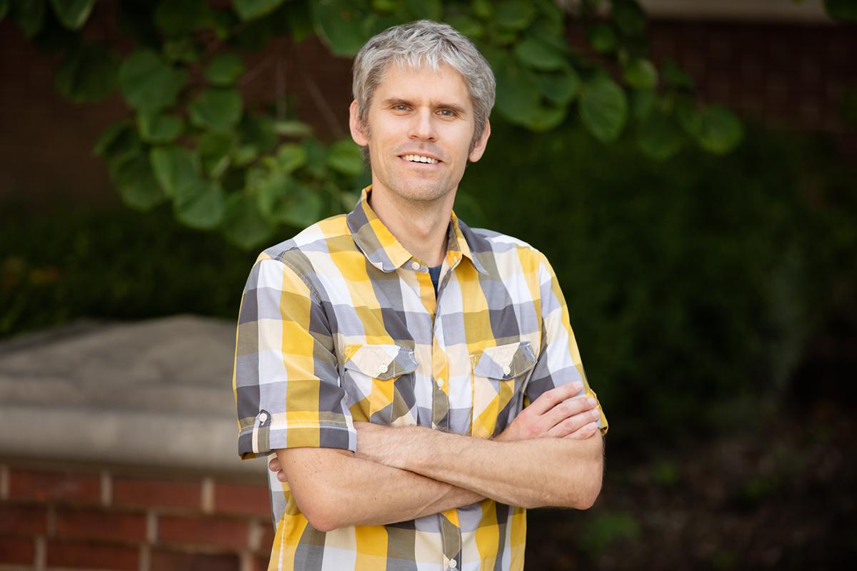 Erik Procko is a professor of biochemistry at Illinois.