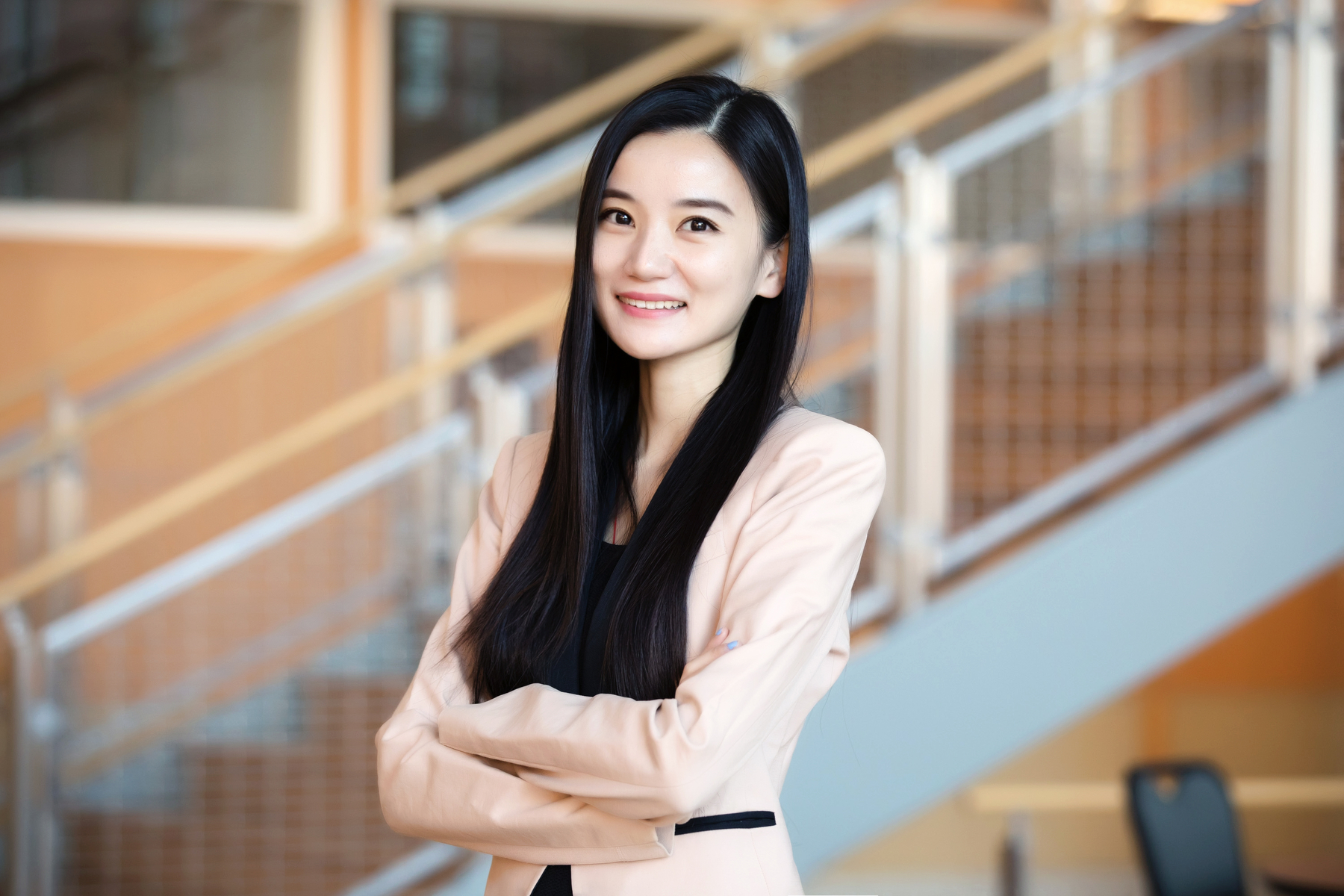 Photo of Yuqian Xu, a professor of business administration at the Gies College of Business at the University of Illinois.
