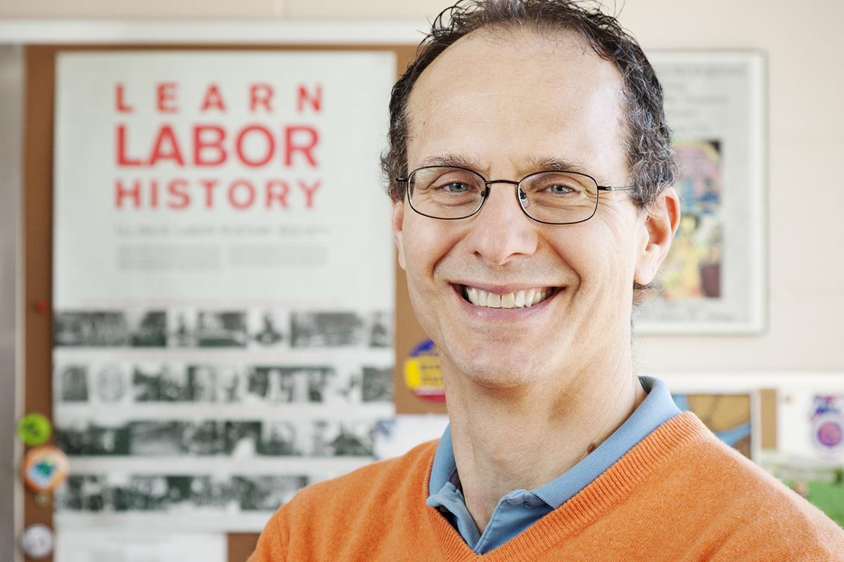Photo of Robert Bruno, a professor of labor and employment relations at Illinois.
