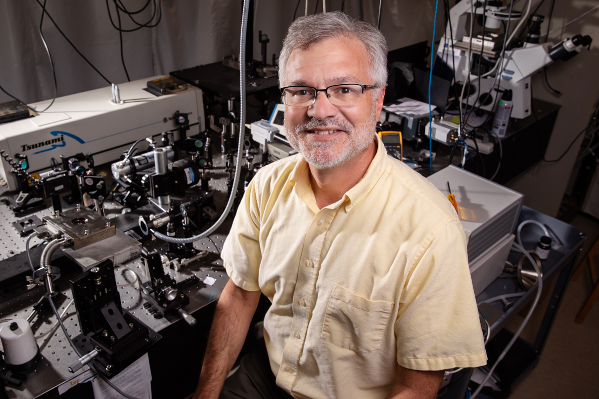 Materials science and engineering professor and department head David Cahill co-led research that helped optimize the synthesis of boron arsenide  a highly thermally conductive material  to help dissipate heat inside high-powered electronics.