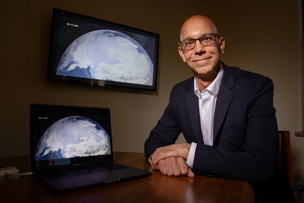 University of Illinois atmospheric sciences professor (Robert) Jeff Trapp is a co-author of a new study that has identified the possible links between global climate change, Arctic sea ice retreat and tornadoes.