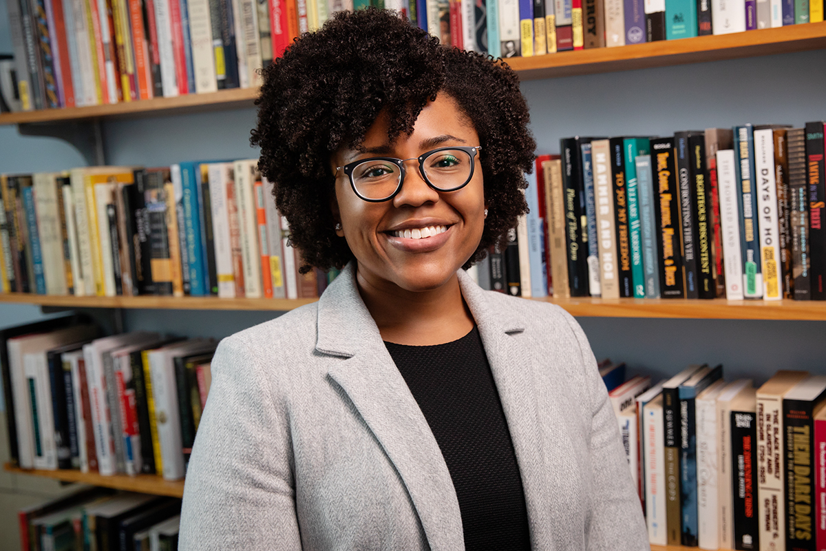History professor Marsha Barrett specializes in modern U.S. political history and African-American history.