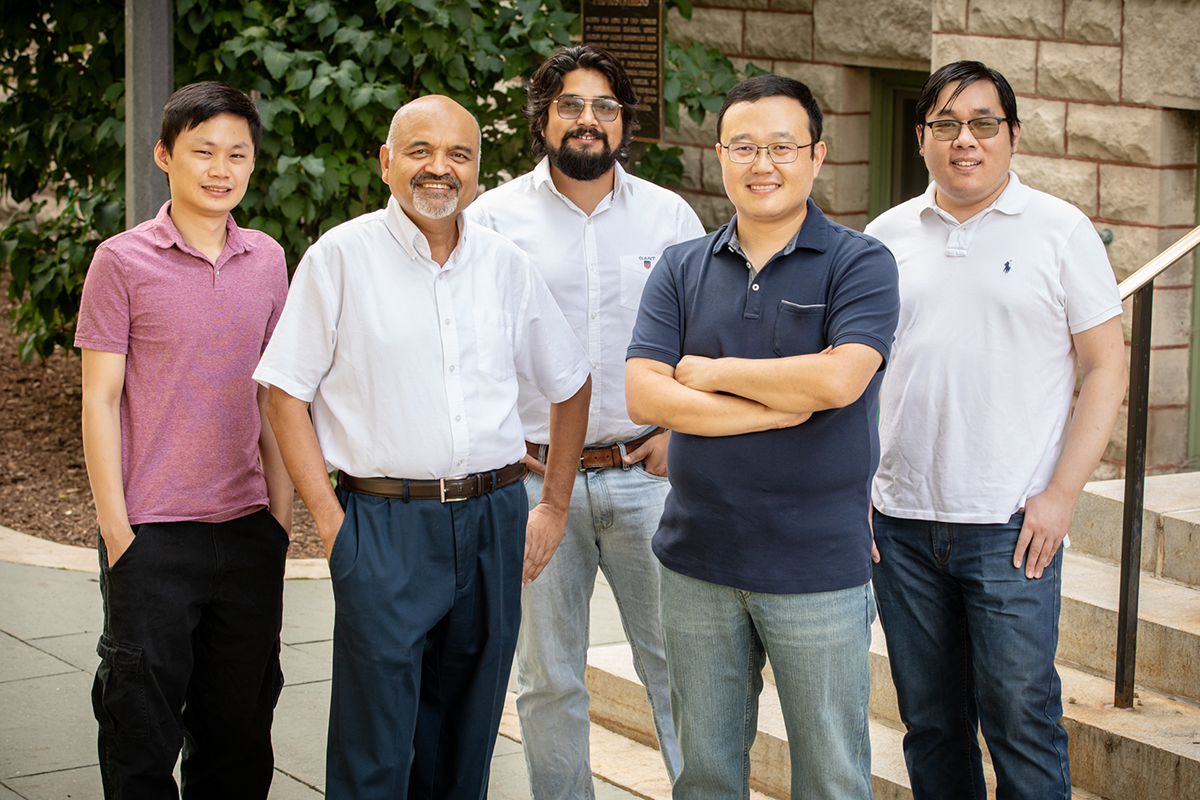 A portrait of the Illinois researchers who contributed to the study.
